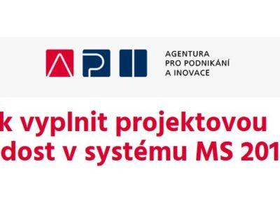 Pozvánka – Jak vyplnit projektovou žádost v systému MS 2014+