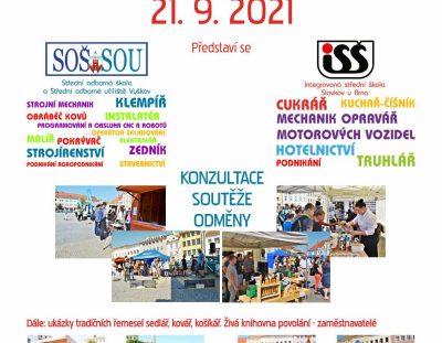 Den učňovských oborů – Vyškov – náměstí – 21.9.2021