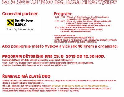 Pozvánka – Podnikatelské setkání a dětský den OHK Vyškov – 29.8.2019