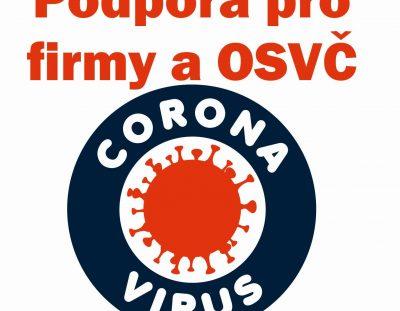 Informace pro podnikatele k pomoci státu při 2. vlně COVID19